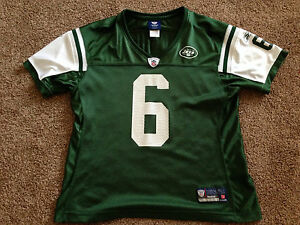 Authentic Women s REEBOK NFL New York Jets MARK SANCHEZ Nylon  6 ... 684ae130c