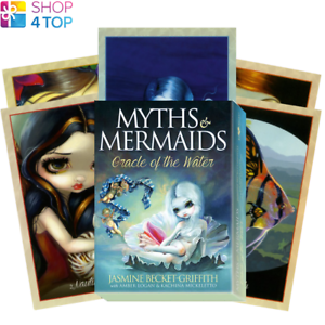 Myths-amp-Mermaids-Oracle-Cards-Deck-Esoteric-Fortune-Telling-Blue-Angel-New