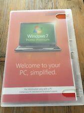 Windows 7 Home Premium, 32 bit mit Holo DVD, Englisch ,SB Ware mit MwSt Rechnung