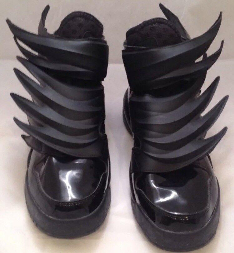 Adidas Jeremy Scott Black Wings 3.0 Dark Knight Batman Size 10 (D66468)