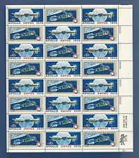 SCOTT #1570a...APOLLO SOYUZ SPACE ISSUE...SHEET OF 24 (10c) STAMPS...MNH...RM