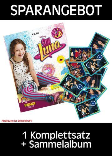 Album PANINI-Soy Luna-sammelsticker-complet