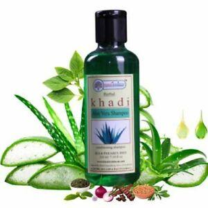 Khadi Rishikesh Herbal Aloevera Anti Hair fall Shampoo For unisex 210ml
