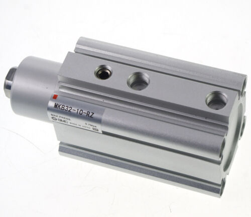 SMC MKB32-10R Rotary Clamp Cylinder Bore Size 32mm Rotary Direction Clockwise
