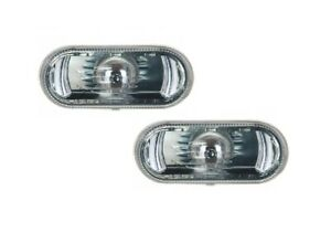 FOR-SEAT-IBIZA-CORDOBA-2002-2009-2X-FRONT-WING-CLEAR-SIDE-INDICATORS-L-R