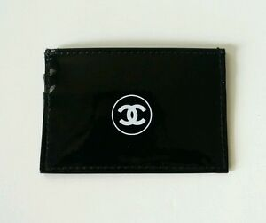 Brand-New-Authentic-Chanel-Credit-Card-Case-Holder-Black-Logo-VIP-Gift