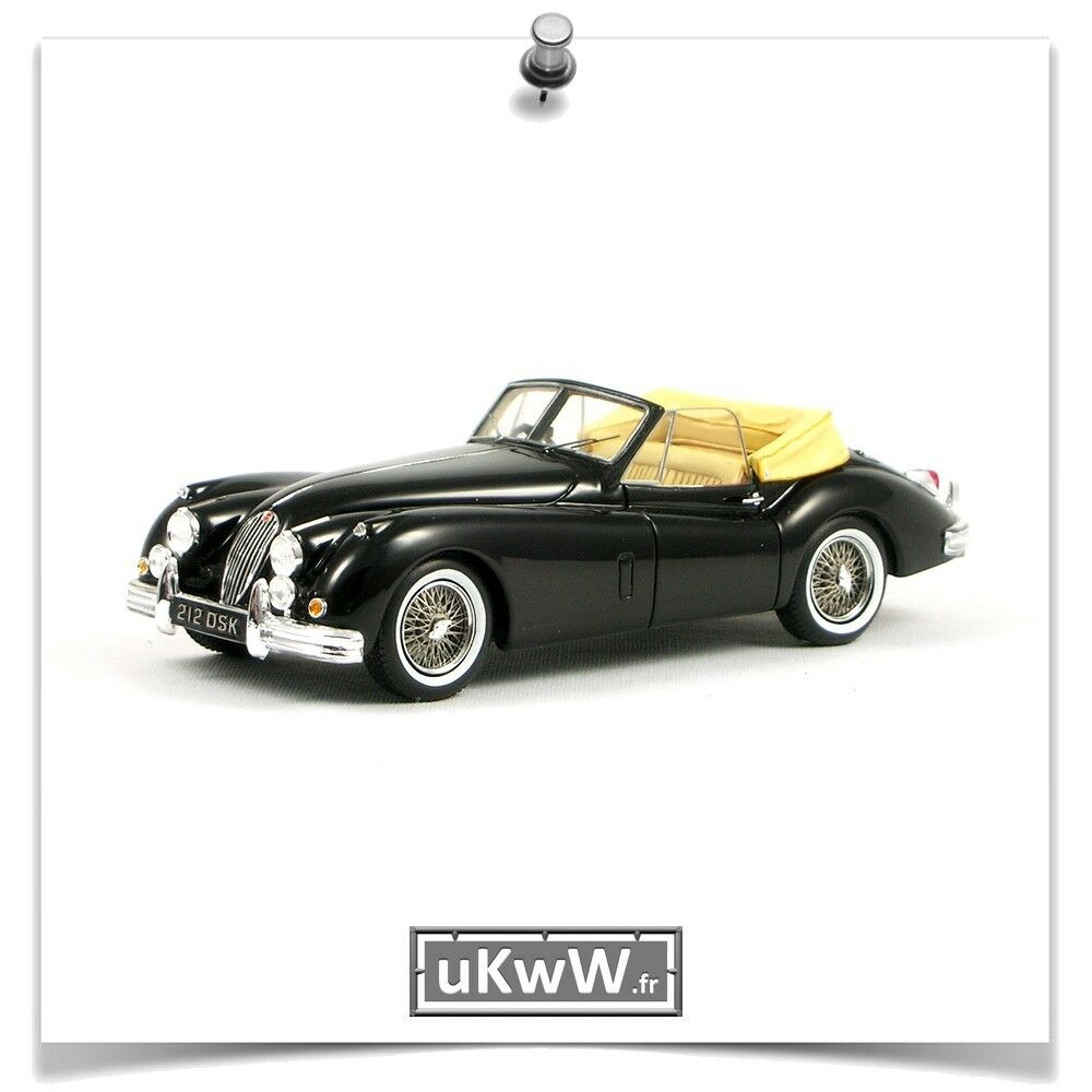 Spark 1 43 - Jaguar XK 140 cabriolet 1957 noir
