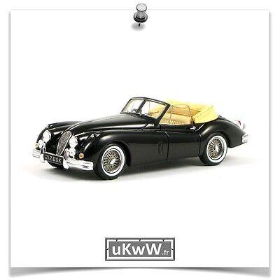 Jaguar XK140 Cabrio Grau Metallic 1954-1957 1//43 Solido Modell Auto mit oder o..
