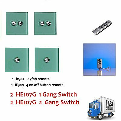 Home Easy Light Switch 2X HE107G + 2X HE108g + HE300 + HE301