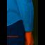 Ben Sherman Oxford Polka Dot Long Sleeve Mens Shirt Sky Blue