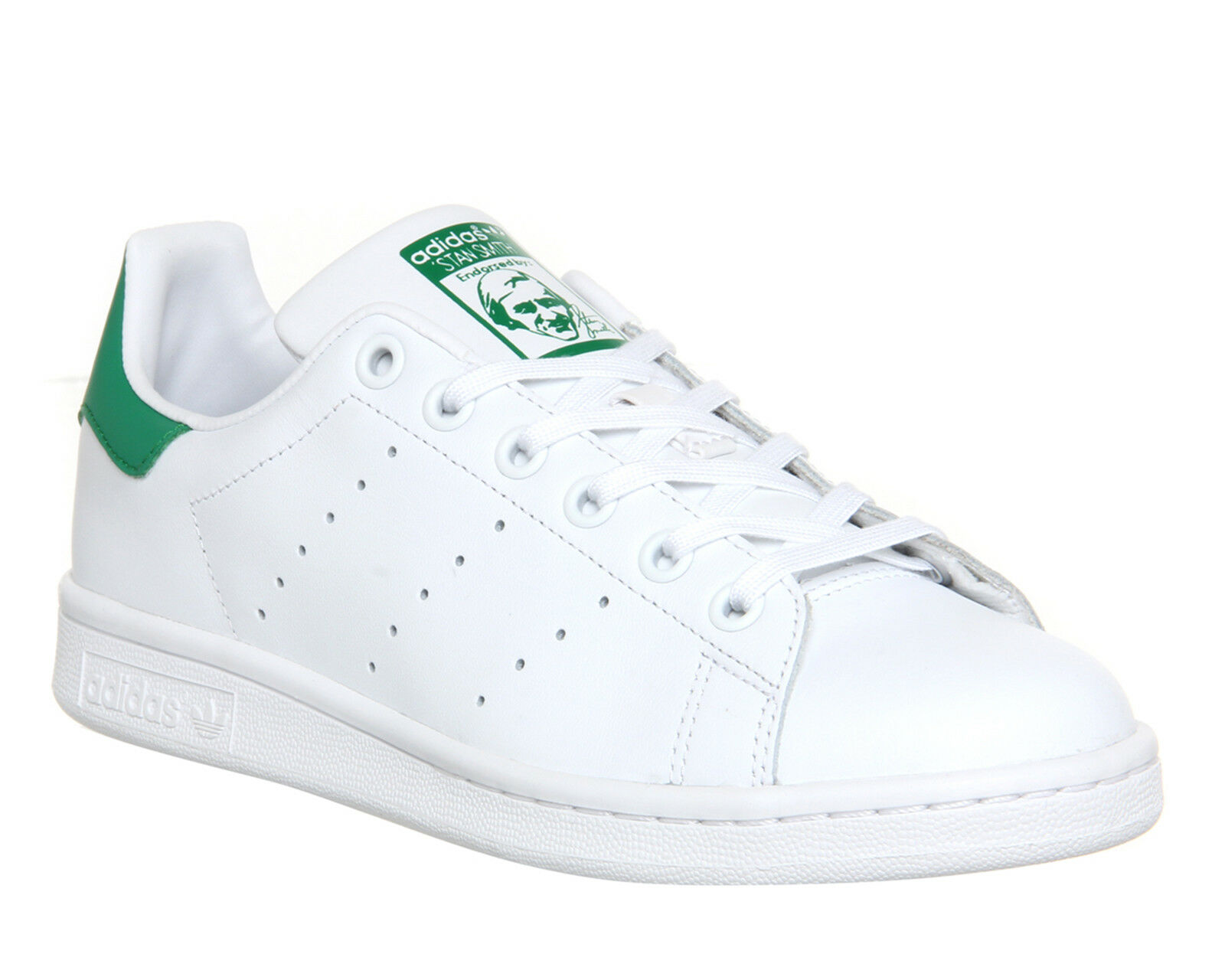 Adidas Stan Smith Verde zapatillas núcleos Blanco Verde Smith ff4bcd