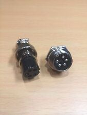 GX16 5 Pin 16mm Aviation / Automotive Connector Female Socket Male Plug