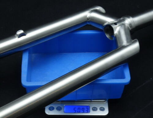 "J/&L One Inch Titanium Rigid 1/""//25.4 MTB Fork-for 26/""/&700C-XC/&CX-508g"