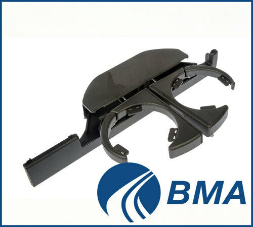BMW 5 E39 96-03 DRINK CUP HOLDER ASSEMBLY FRONT LEFT LH 51168190205 NEW