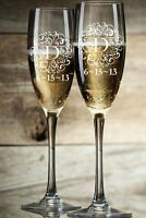 Personalized Champagne Flutes (set Of 2)