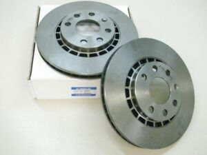 2x-Opel-Ascona-Astra-Calibra-Bremsscheiben-belueftet-VORNE-9503-569008-NEU