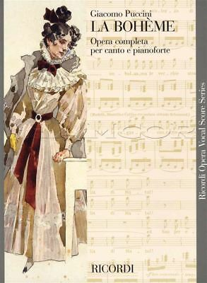 Delicious Giacomo Puccini La Boheme Opera Completa Voice & Piano Music Book 9790040990003 Reputation First Musical Instruments & Gear