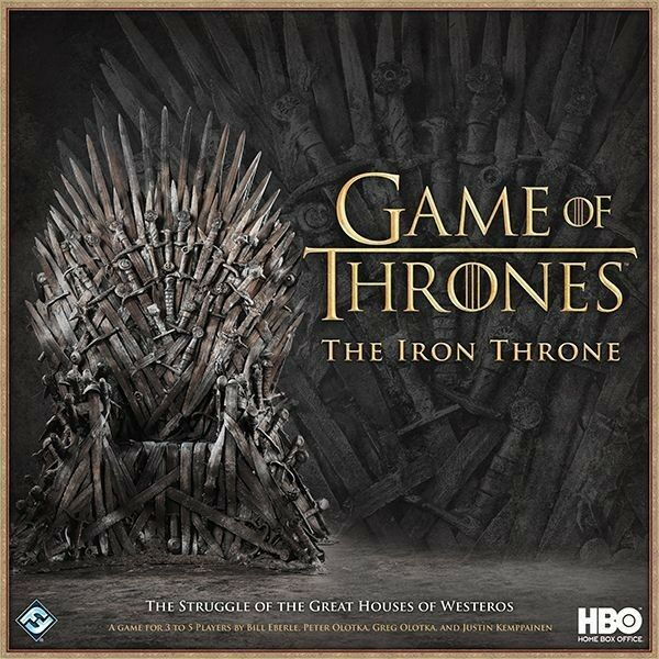 Game of Thrones Board Game - The Iron Throne - HBO - BNIB - Games - GOT