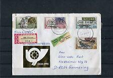 DDR Beleg Michel Nr. 3354-3357, 500 Jahre internationale Postverbindungen