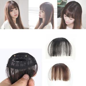 PW-Pretty-Women-Girls-4-Colors-Mini-Clip-On-Thin-Hair-Bang-Fringe-Extension-P