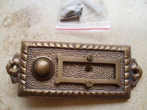 Messing Haustüre Antikladl Klingel 1 Brass Door Bell Tür Türklingel K4A