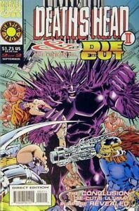 Deaths-Head-II-amp-Die-Cut-1992-Ltd-2-Near-Mint-NM-Marvel-Comics-MODERN-AG