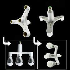 1 To 4 E27 Socket Splitter Light Lamp Bulb Base Adapter For Photography Studio