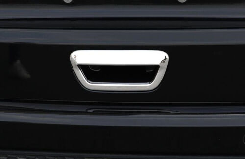 For 2014-2018 Jeep Grand Cherokee Chrome Rear Trunk Lid Door Handle Cover Trim