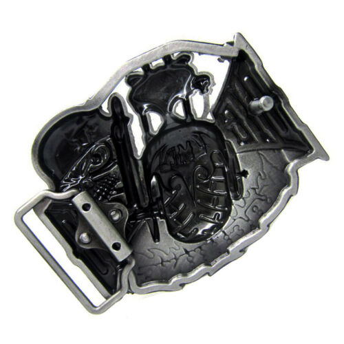 Vintage Belt Buckle Ghost Skull Head Cowboy Western Belt Buckle Men/'s Gift