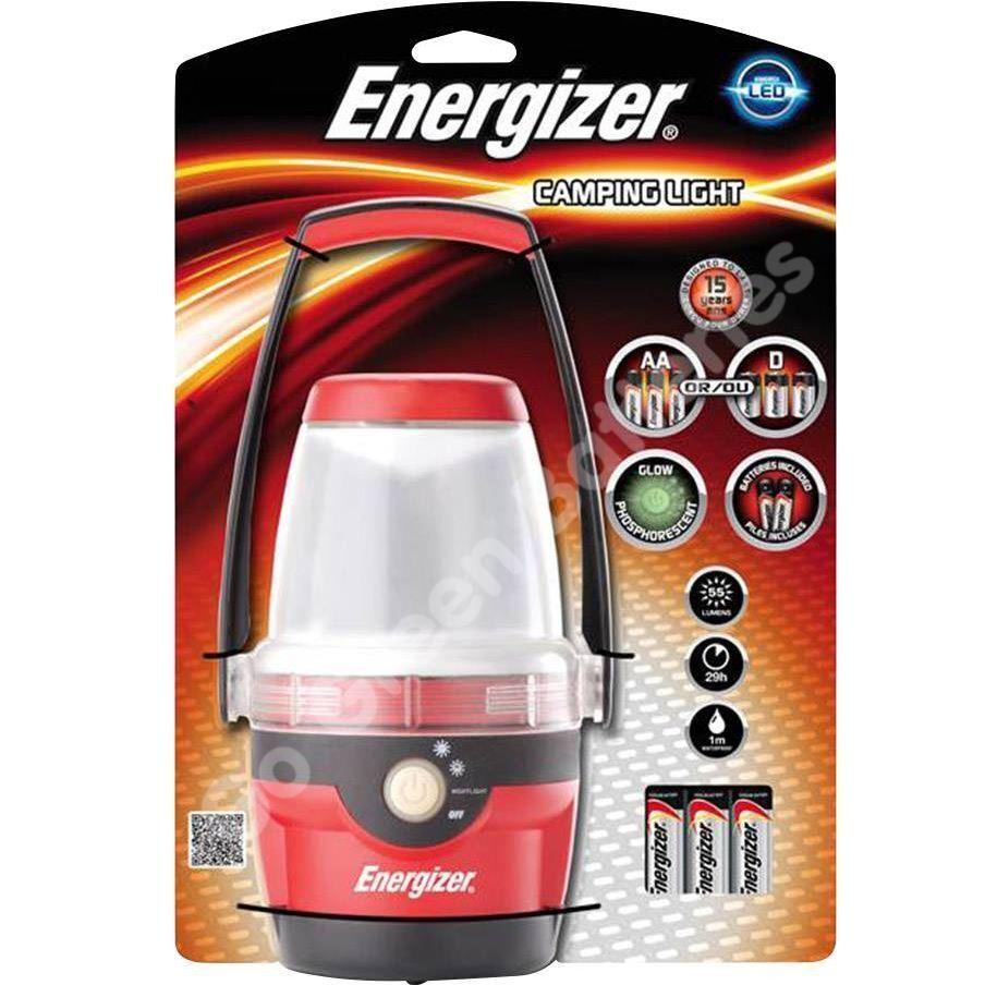 Energizer DEL Camping Lanterne Lumière 200 lm étanche LAMP 70hr HANGING LAMP étanche +3AA 2e4f69