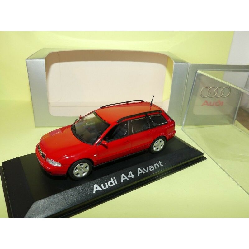AUDI A4 AVANT B5 Phase 2 red MINICHAMPS 1 43