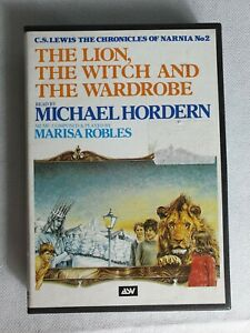 The-lion-the-witch-and-the-wardrobe-Cassette-Audio-Tapes-Michael-Hordern