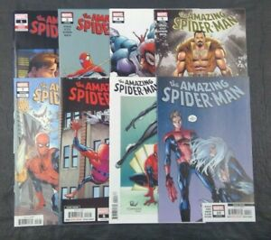 Amazing-Spider-Man-Mixed-Lot-1-2-4-5-7-8-9-10-Marvel-Comics-2018-Lot-of-8