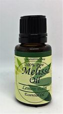 Melissa Oil, Lemon Balm Oil  100% Pure Essential  Therapeutic Grade 15ml non GMO