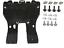 PEUGEOT-407-2004-2011-PLAQUE-COUVERCLE-CACHE-PROTECTION-SOUS-MOTEUR-SET miniature 1