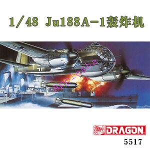 DRAGON-5517-1-48-SCALE-Ju188A-1-bombardment-aircraft-MODEL-KIT-2019-NEW