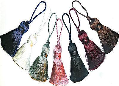 Silky Chiave Nappe, Assortiti Cols, X4, Cuscini, Tende, Tendine, Art 13.623- Perfetto Nella Lavorazione