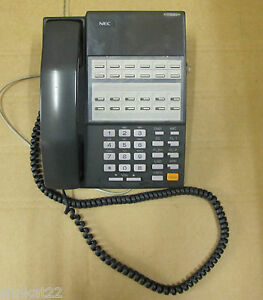 nec dx2e 128bth black telephone digital business office handsfree rh ebay co uk NEC Dterm 80 Manual Manual III NEC Series Dterm 16305003B