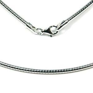 Halsreif-Omegareif-Collier-echt-Silber-925-rhodiniert-Laenge-ca-42-cm-45-cm-Dame