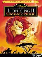 The Lion King Ii Simbas Pride Dvd 1999 For Sale Online Ebay