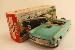 Tekno N ° 809 Ford Thunderbird et Boite 1/43