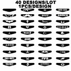 40 Sticker For PS4 Playstation 4 Controller LED Decal Lightbar Skin Gift
