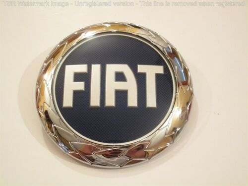 FREGIO ANTERIORE FIAT MULTIPLA 04-07 95mm ORIGINALE stemma FRONT BADGE GENUINE