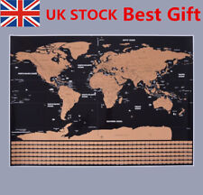 Large scratch world map off gift personalised travel vacation poster item 3 large size travel edition scratch off world map personalized travel vacation log large size travel edition scratch off world map personalized travel publicscrutiny Gallery