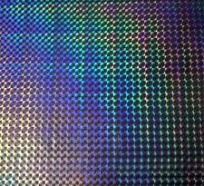 Wassertransferdruck Folie Hologram Laser 8 - 50cm breit