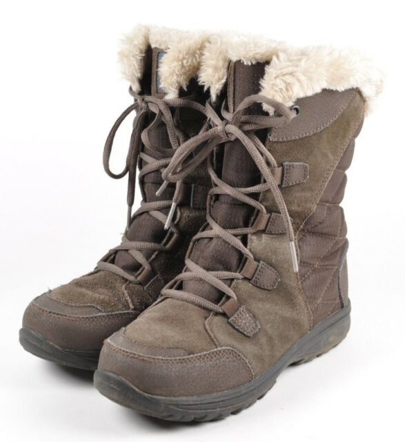 Columbia Ice Maiden Brown Suede Textile