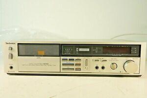 Technics-RS-M226A-klassisches-Tapedeck-80er-Jahre-Dolby-B-C-NR-gecheckt