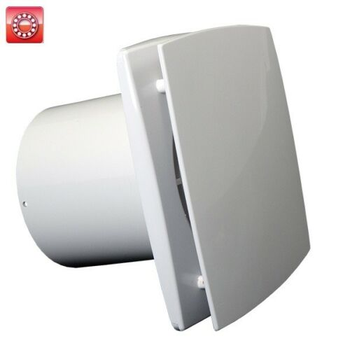 Badlüfter Wandlüfter Kleinraumlüfter WC Lüfter TURBO MOTOR dalap BF 125mm 41023