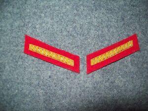 Civil-War-reenactors-Collar-Insignia-2nd-LT-Artillery