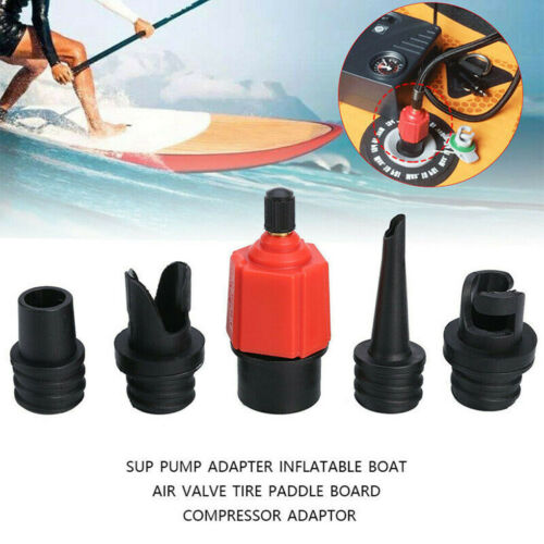 Sup Pump Adapter Inflatable Boat Air Valve Tire Paddle Board Compressor Adaptor